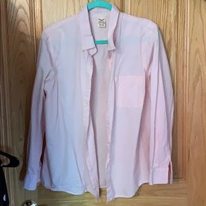 Light pink button down dress shirt